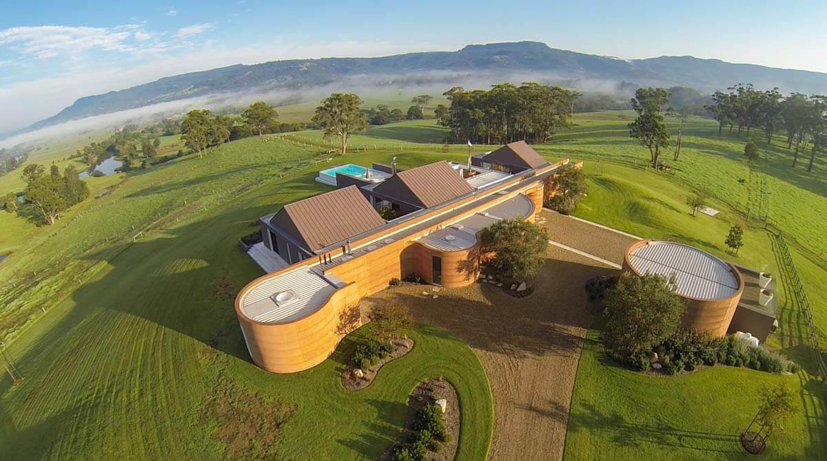 Strongbuild Custom Build Rammed Earth Home